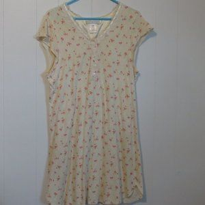 *3/$10* Earth Angels Cotton Cap Sleeve Nightgown